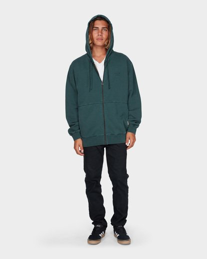 5 THICK WAVE WASH FLEECE Green 9596613 Billabong