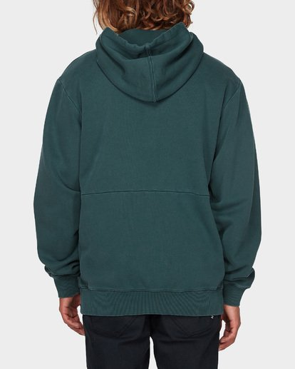 2 THICK WAVE WASH FLEECE Green 9596613 Billabong