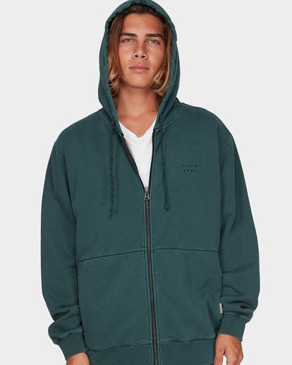3 THICK WAVE WASH FLEECE Green 9596613 Billabong