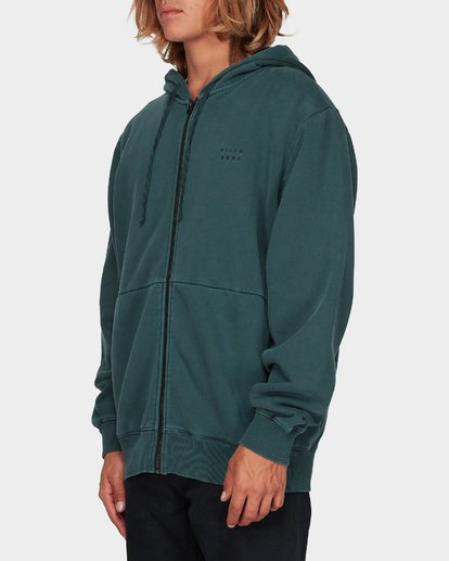 1 THICK WAVE WASH FLEECE Green 9596613 Billabong