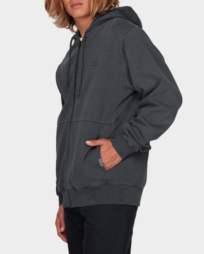 1 THICK WAVE WASH FLEECE Black 9596613 Billabong