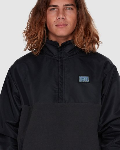 4 SPACE MORPHINE HALF ZIP JACKET Black 9596630 Billabong