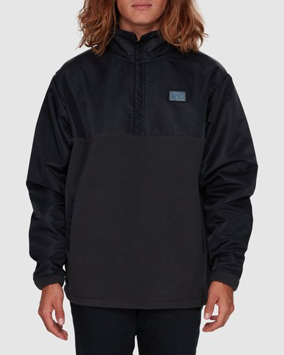 0 SPACE MORPHINE HALF ZIP JACKET Black 9596630 Billabong