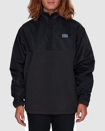 1 SPACE MORPHINE HALF ZIP JACKET Black 9596630 Billabong