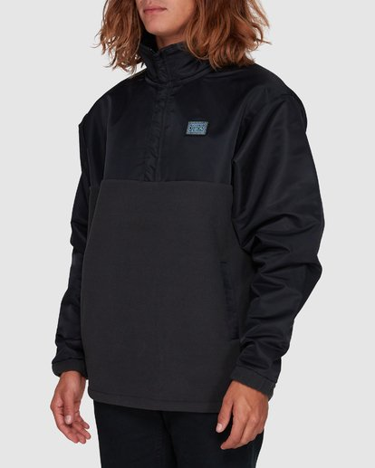2 SPACE MORPHINE HALF ZIP JACKET Black 9596630 Billabong