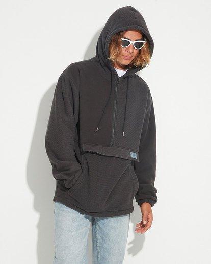 0 Quartered Half Zip Fleece Black 9596632 Billabong
