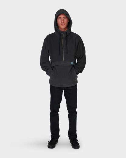 7 QUARTERED HALF ZIP FLEECE Black 9596632 Billabong