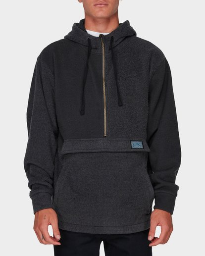 5 Quartered Half Zip Fleece Black 9596632 Billabong
