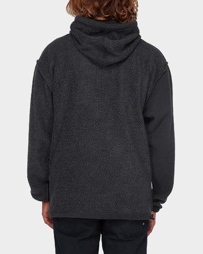 6 Quartered Half Zip Fleece Black 9596632 Billabong