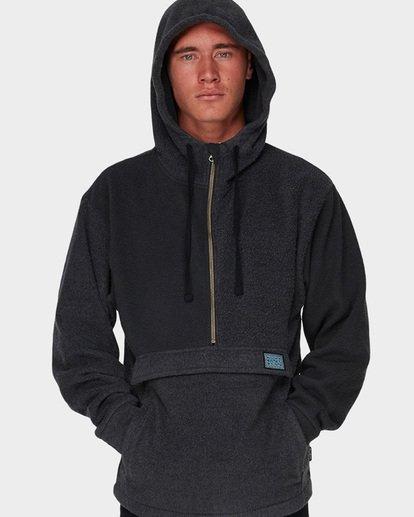 3 Quartered Half Zip Fleece Black 9596632 Billabong