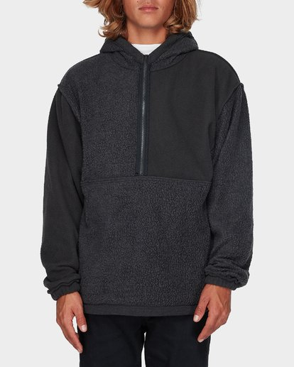 1 QUARTERED HALF ZIP FLEECE Black 9596632 Billabong
