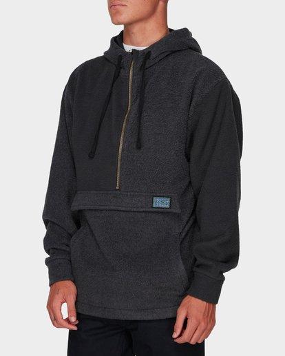 1 Quartered Half Zip Fleece Black 9596632 Billabong