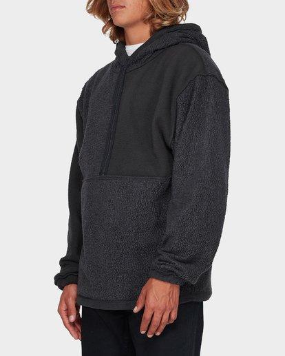 4 Quartered Half Zip Fleece Black 9596632 Billabong