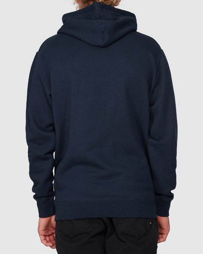 3 CLASSIC ACT POP HOOD Blue 9596635M Billabong