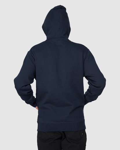 4 CLASSIC ACT POP HOOD Blue 9596635M Billabong