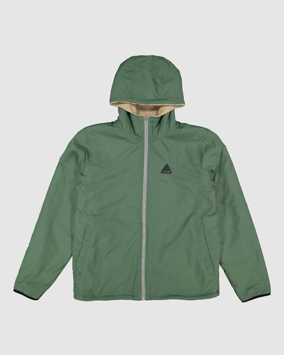 4 Switchback Reversible Jacket Green 9596906 Billabong