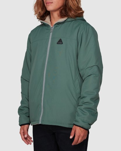 1 Switchback Reversible Jacket Green 9596906 Billabong