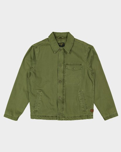 4 BARLOW MILITARY JACKET Camo 9596911 Billabong