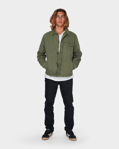 5 BARLOW MILITARY JACKET Camo 9596911 Billabong