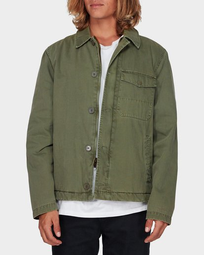 0 BARLOW MILITARY JACKET Camo 9596911 Billabong