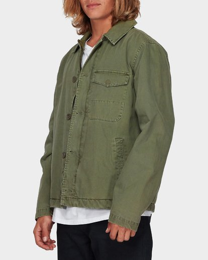 1 BARLOW MILITARY JACKET Camo 9596911 Billabong