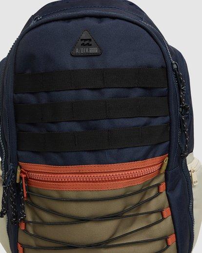 6 Adventure Division Combat Backpack Blue 9603002 Billabong
