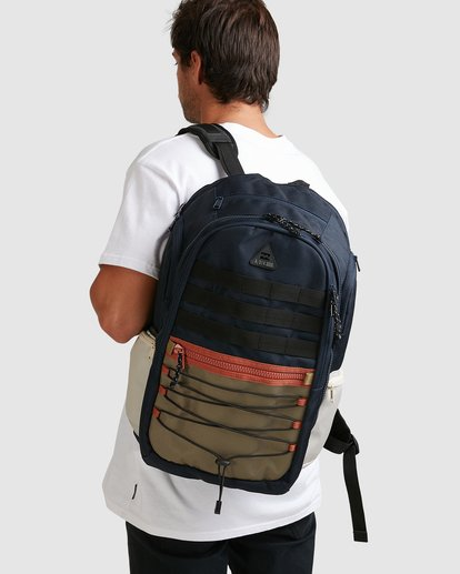 8 Adventure Division Combat Backpack Blue 9603002 Billabong