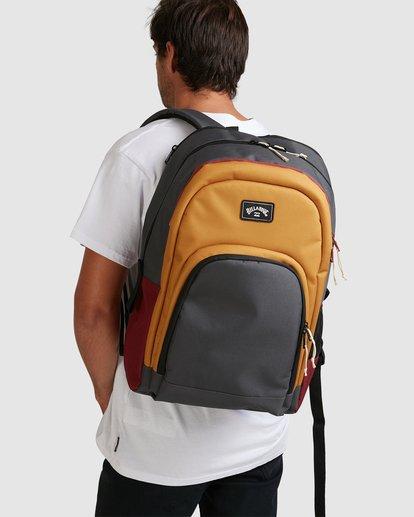 6 Command Backpack White 9603004 Billabong