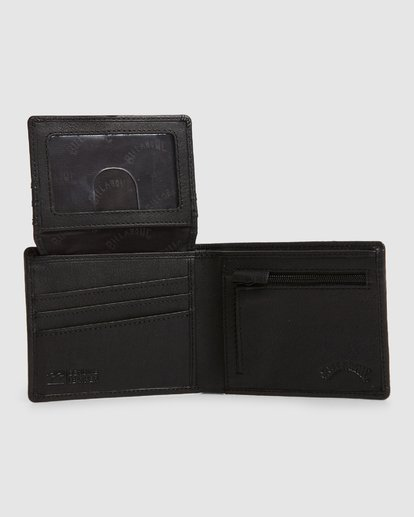4 Helsman Rfid Flip Wallet Black 9603184 Billabong