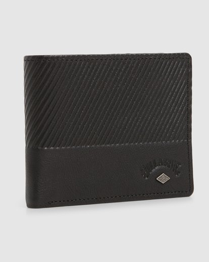 2 Helsman Rfid Flip Wallet Black 9603184 Billabong