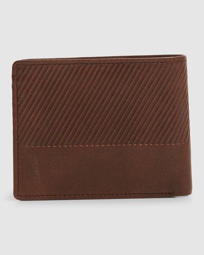 1 Helsman Rfid Flip Wallet Brown 9603184 Billabong