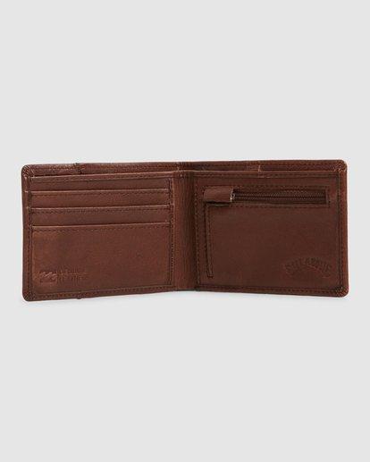 1 Downtown Rfid Slim-Line Wallet Green 9603188 Billabong