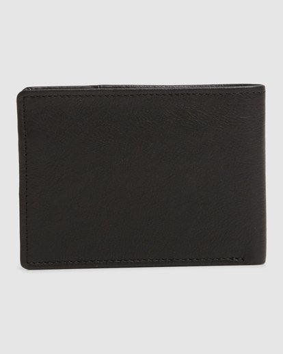 2 Downtown Rfid Slim-Line Wallet Black 9603188 Billabong