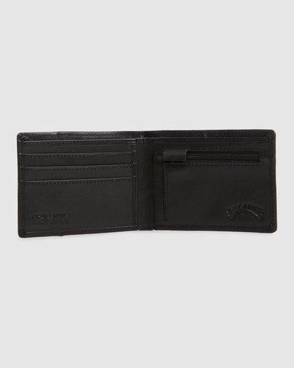1 Downtown Rfid Slim-Line Wallet Black 9603188 Billabong