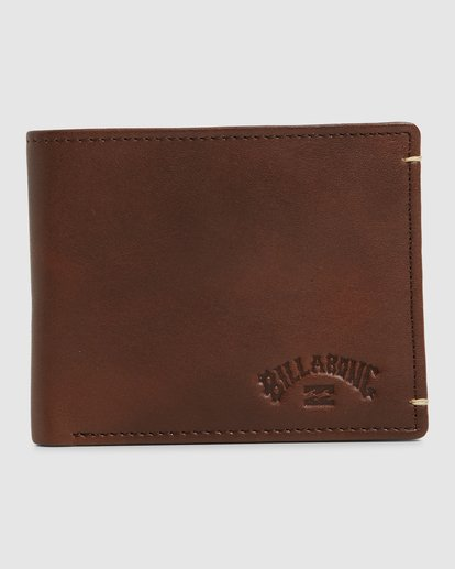 0 Rockaway RFID 2 In 1 Wallet Green 9603206 Billabong