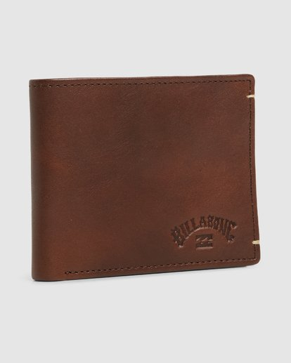 2 Rockaway RFID 2 In 1 Wallet Green 9603206 Billabong