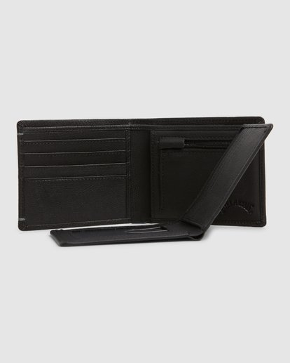 4 Rockaway RFID 2 In 1 Wallet Black 9603206 Billabong