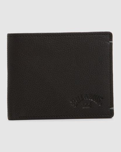 0 Rockaway RFID 2 In 1 Wallet Black 9603206 Billabong