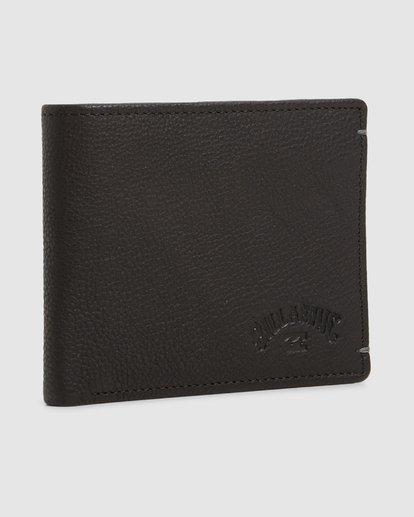 2 Rockaway RFID 2 In 1 Wallet Black 9603206 Billabong