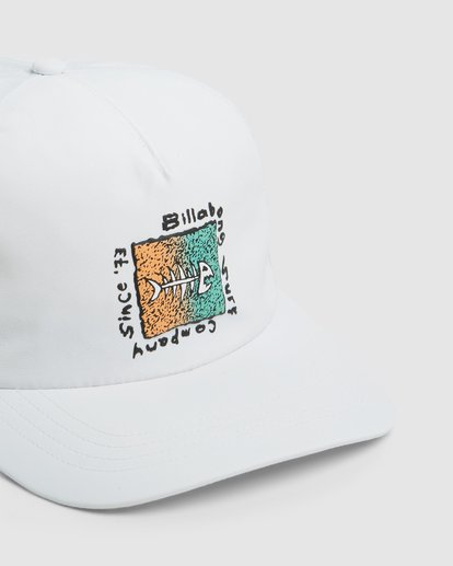 3 Mondo Cap White 9603308 Billabong