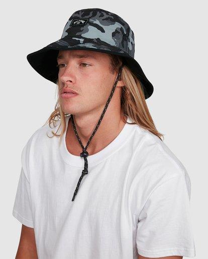 6 Division Reversible Hat Black 9603312 Billabong