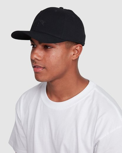 4 Surftrek Ripstop Stretch Cap Black 9603314 Billabong