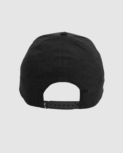 2 Surftrek Ripstop Snapback Cap Black 9603315 Billabong