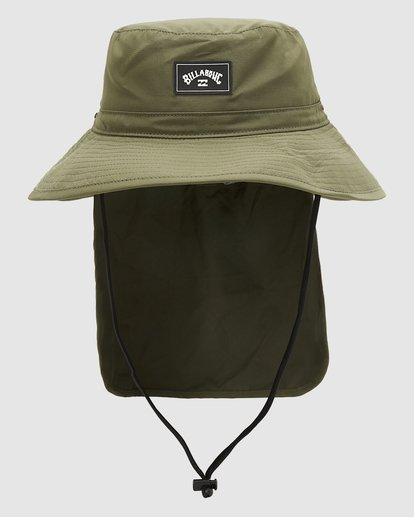 0 Adiv Big John Hat Green 9603319 Billabong
