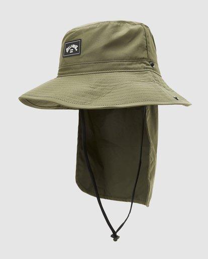 1 Adiv Big John Hat Green 9603319 Billabong