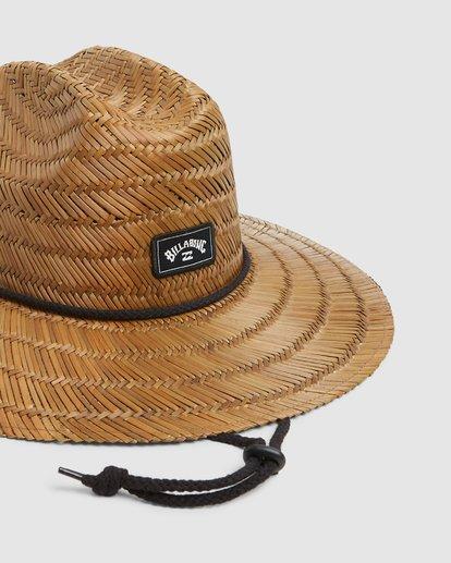 3 Tides Straw Hat Brown 9603326 Billabong