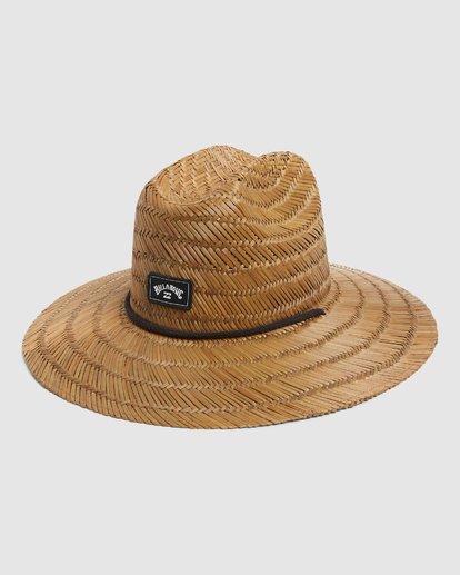 1 Tides Straw Hat Brown 9603326 Billabong