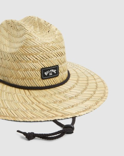 8 Tides Straw Hat Beige 9603326 Billabong