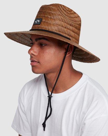 4 Tides Straw Hat Brown 9603326 Billabong
