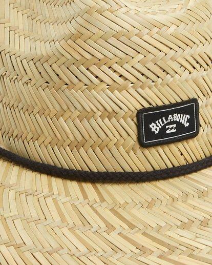 9 Tides Straw Hat Beige 9603326 Billabong